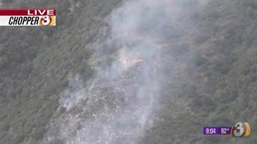 French Gulch Fire on Aug. 19 By Jennifer Thomas