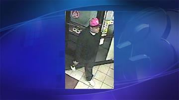 Suspect in armed robbery at AM/PM store By Jennifer Thomas