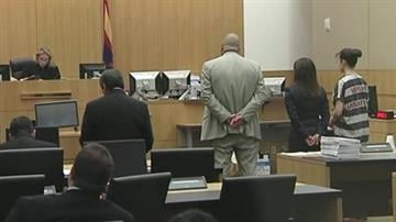 Jodi Arias in court on 8/26/13 By Catherine Holland