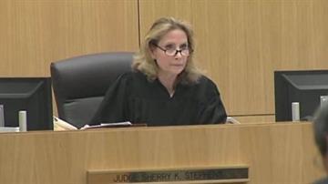 Judge Sherry Stephens, Jodi Arias hearing on 8/26/13 By Catherine Holland