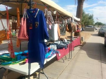 Counterfeit goods were found at a home near McDowell Road and 59th Avenue in Phoenix. By Jennifer Thomas