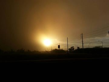 Dust storm on Aug. 26 By Jennifer Thomas