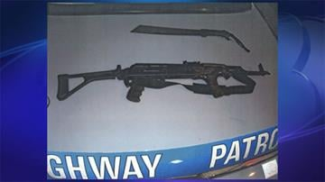 Weapons, ammunition and explosives were found inside a vehicle during a traffic stop. By Jennifer Thomas