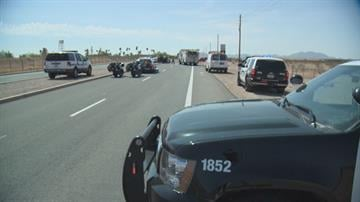 Two people died and two others were seriously injured after a collision in east Mesa Wednesday morning. By Jennifer Thomas