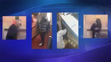 Surveillance photos from an armed robbery at a Burger King restaurant at 40th Street and Broadway Road in Phoenix By Jennifer Thomas