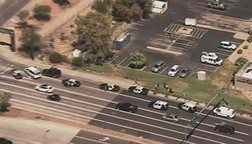 The van, victims and suspect from a Mesa vehicle theft and kidnapping were all located in Tempe. By Jennifer Thomas