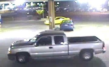 The suspects who used the victim's credit cards were seen leaving the stores in a light-colored extended cab Chevrolet truck. By Jennifer Thomas