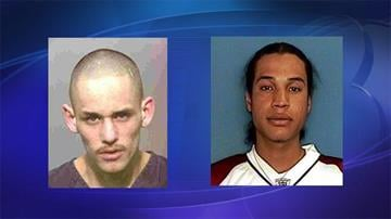 Persons of interest: Michael Vallejos (left) and Jeremiah Barlow By Jennifer Thomas