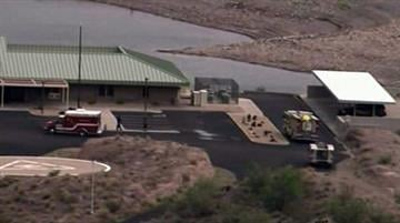 A family was rescued from an area north of Castle Hot Springs Road and flew them to the Lake Pleasant helipad. By Jennifer Thomas