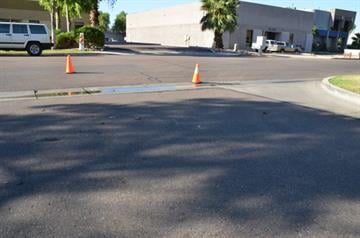 A bicyclist was seriously injured in a hit-and-run crash at Fifth Street and Siesta Lane in Tempe. By Jennifer Thomas