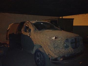 Dodge pickup truck By Jennifer Thomas