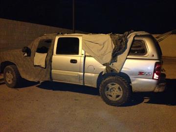 Chevy truck By Jennifer Thomas