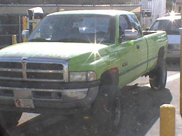 Jeff Green's Dodge Ram truck By Jennifer Thomas
