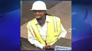 Surveillance photo of suspect in robbery at Chase Bank By Jennifer Thomas