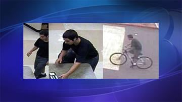 Images of the suspect taken by security cameras By Jennifer Thomas