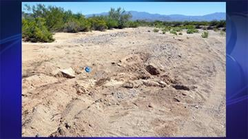 Hikers discovered human remains in a dry wash in Golden Valley. By Jennifer Thomas