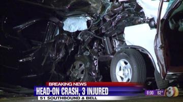 Wrong-way crash on SR 51 By Jennifer Thomas