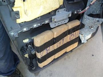 CBP officers assigned to the Port of Douglas removed packages of marijuana from a smuggling load. By Jennifer Thomas