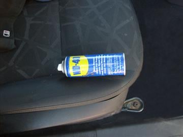 WD-40 can used to conceal contraband at SR 90 checkpoint. By Jennifer Thomas