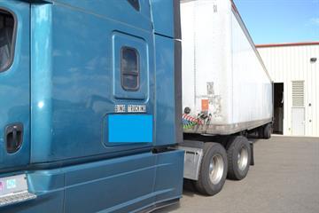 Bing Trucking tractor trailer By Jennifer Thomas