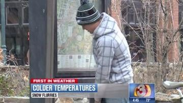 Mother Nature blew an icy blast into Flagstaff Tuesday. By Tami Hoey