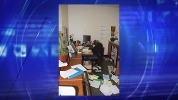 Burglary at J.O. Combs District Office By Jennifer Thomas