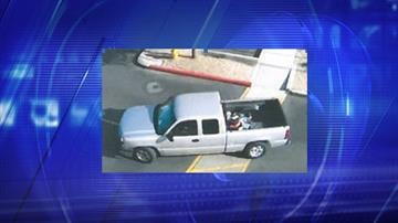 Images of the suspects and their vehicle were taken by security cameras. By Jennifer Thomas