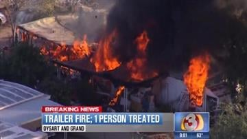 Man rescues mother from fire By Jennifer Thomas