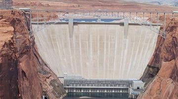 Glen Canyon Dam By Catherine Holland
