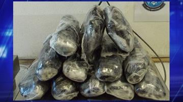 U.S. Customs and Border Protection officers found heroin and meth in a vehicle. By Jennifer Thomas