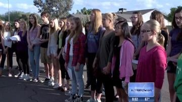 Classmates honor Audra Sanders By Jennifer Thomas