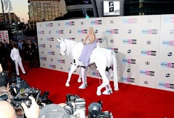 LOS ANGELES, CA - NOVEMBER 24:  Singer Lady Gaga attends the 2013 American Music Awards at Nokia Theatre L.A. Live on November 24, 2013 in Los Angeles, California.  (Photo by Jason Kempin/Getty Images) By Jason Kempin