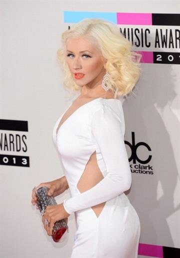 LOS ANGELES, CA - NOVEMBER 24:  Singer Christina Aguilera attends the 2013 American Music Awards at Nokia Theatre L.A. Live on November 24, 2013 in Los Angeles, California.  (Photo by Jason Kempin/Getty Images) By Jason Kempin