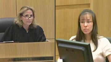 File photo: Judge Sherry Stephens and convicted murderer Jodi Arias By Catherine Holland