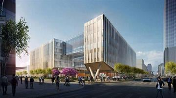 Officials unveiled the design for Arizona State University's planned Center for Law and Society. By Jennifer Thomas