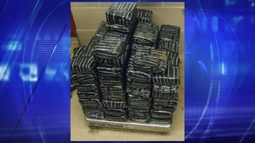 More than 100 pounds of marijuana are seized by CBP officers at the Port of Douglas. By Jennifer Thomas