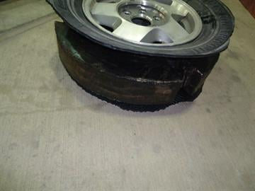 Containers within vehicle tires filled with marijuana are found by CBP officers in southeastern Arizona. By Jennifer Thomas