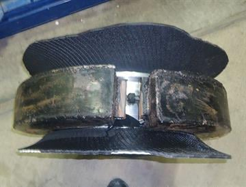 Smugglers are utilizing metal boxes to attempt to conceal drugs within passenger tires. By Jennifer Thomas