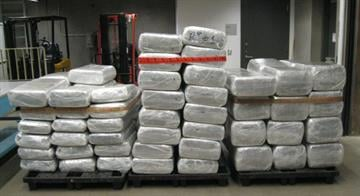Three pallets of marijuana were seized from within a shipment of Mexican squash. By Jennifer Thomas