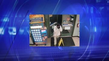 Peoria police are asking for the public's help identifying a suspect who attempted to rob a convenience store near 83rd Avenue and Cactus Road. By Jennifer Thomas