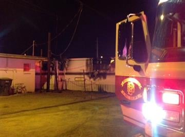 It appears a cigarette is to blame for a trailer fire near 15th Avenue and Hatcher Road in Phoenix. By Jennifer Thomas