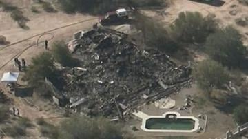 The bodies of two adults and a child were found after a house fire northeast of Casa Grande. By Jennifer Thomas