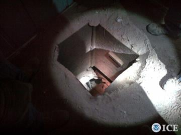 A drug-smuggling tunnel was discovered in the backyard shed of a Nogales, Ariz., home. By Jennifer Thomas