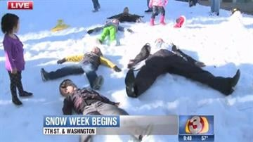 How much fun would tons of snow in downtown Phoenix be? Check out Snow Week at the Arizona Science Center to find out! By Catherine Holland