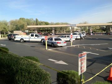 Woman killed at gas pumps By Jennifer Thomas