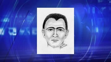 Composite drawing of assault suspect By Jennifer Thomas