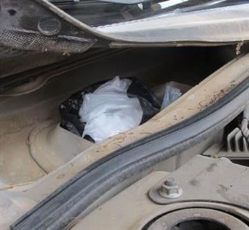 An alert by a CBP narcotics detection canine leads to the discovery of more than 12 pounds of methamphetamine. By Jennifer Thomas