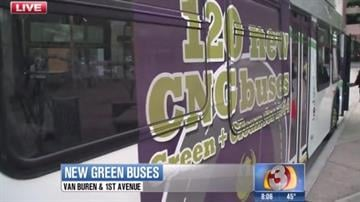 Riders can expect to see all 120 CNG buses in circulation by the end of summer. By Jennifer Thomas