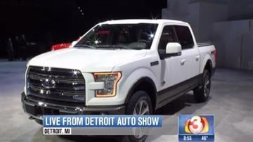 Global automakers previewed their new cars and trucks for the media Monday at the North American International Auto Show. The show opens to the public on Saturday, Jan. 18. Here are some highlights from Monday's events. By Tami Hoey