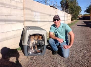 Good Samaritans helped save three people and a dog from a fire in Phoenix Monday morning. By Jennifer Thomas